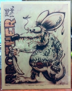 Image of BROTHER RAT FINK - Limited Edition Print
