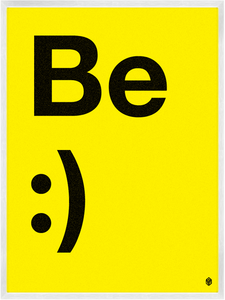 Image of Be Happy - Print