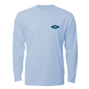 Image of Fly Fishing AVIDry L/S - Ice Blue