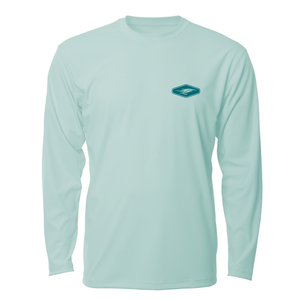 Image of Fly Fishing AVIDry L/S - Seafoam