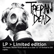 "Image of TREPAN'DEAD ""Instinct"" 12"" LP (clear)"