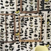 Image of Custhom - Mustard Columbia Road Wallpaper