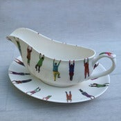 Image of Alice Mara - Hanging People Gravy Boat
