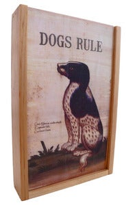 Image of KEEPSAKE BOX: dogs rule