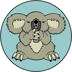 Image of Armed Speedy Window Decal