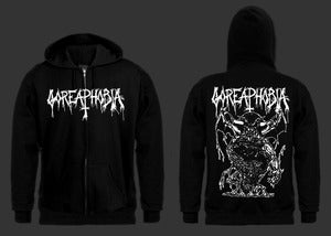 "Image of Goreaphobia "" Necropolis Offering "" Zipper Hoodie"