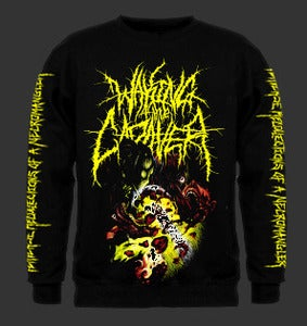 "Image of Waking The Cadaver ""Perverse Recollections Of A Necromangler"" Sweatshirt"