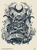 Image of GRINDESIGN - CHAOS REIGNS limited print