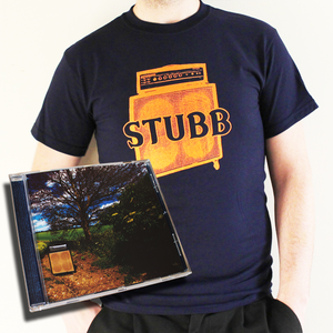 Image of Stubb CD + Navy 'Amp' Tee Bundle