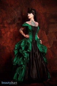 Image of Ghost Town Belle Gown CUSTOM SIZED