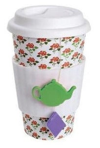 Image of tea lovers travel mug