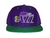 Image of Vintage Inspired Utah Jazz Snapback Hat