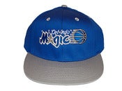 Image of Vintage/Retro Inspired Orlando Magic Snapback Hat