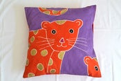 Image of Leopard Safari Kids Cushion Cover