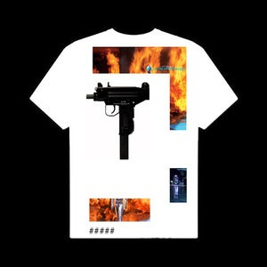 Image of 'FLAMETHROWER' (T-SHIRTS DESIGNED BY JAMES FERRARO)