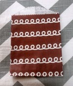 Image of Petite Brown Cupcake Swirl Treat Bags