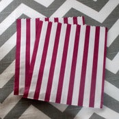 Image of Purple Candy Striped Bags