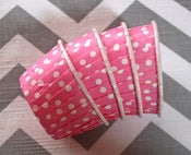 Image of Pink Dots Candy Cups