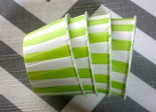 Image of Lime Green Candy Cups