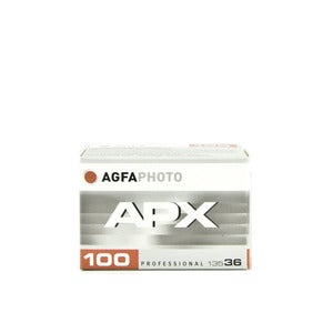 Image of Agfa APX 100 - B&W 35mm Film