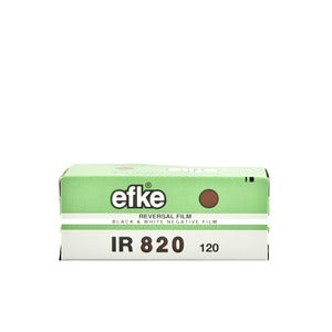 Image of efke IR820 - Infrared B&W 120 Film