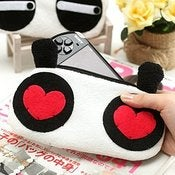 Image of Cute Panda Makeup Bag/Purse