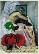 Image of Rose, Art Collage