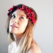 Image of Iron and Wine Floral Crown