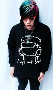 Image of Plugs Not Drugs (Crewneck Sweatshirt)