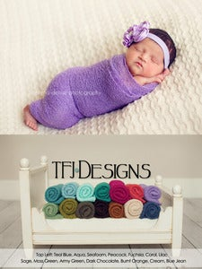 Image of {KNITTED} Baby Wraps - Newborn Photographer Prop - NEW - Ready to Ship
