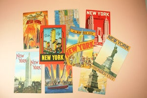Image of New York City postcards