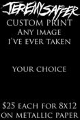 Image of CUSTOM PRINT 8x12