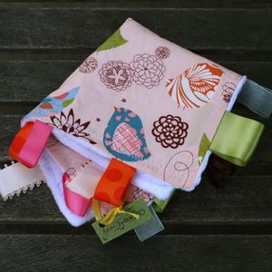 Image of TOP SELLER: Starling in Pink Ribbon Blankie