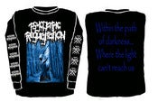 "Image of ""Path of darkness"" Longsleeve"