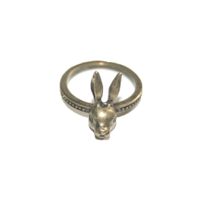 Image of Evil Rabbit Bronze Coloured Ring