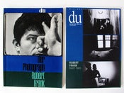 Image of Du Magazine Robert Frank Part one and two