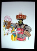 Image of The Blumafuria Explorers, Original Drawing