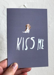 Image of Kiss Me Card