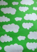 Image of Green clouds jersey (by half metre)