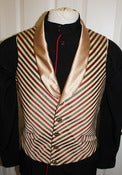 Image of Victorian Dandy Waistcoat, Many Color Choices