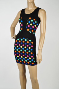 Image of Polka Dot bodycon dress