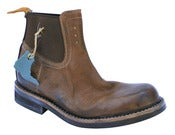 Image of No.0007 INTERCHANGE work chelsea boot Moka