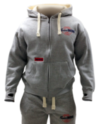 Image of Vintage Lifestyle Full Zip Hoodie [Grey]