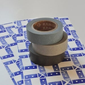 Image of Masking tape tons gris