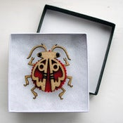 Image of Beetle Brooch 1