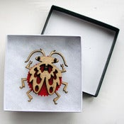 Image of Beetle Brooch 2