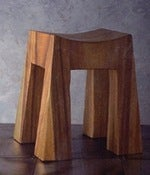 Image of Roost Sway Back Wood Stool