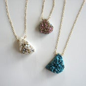 Image of druzy necklace