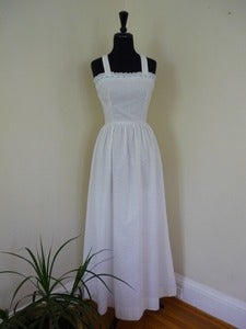 Image of 70s eyelet maxi sundress