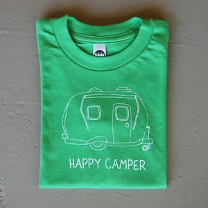 Image of Happy Camper Children's Tee